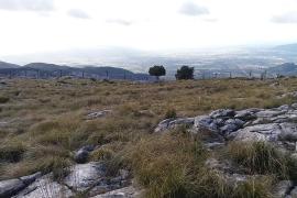Bunyola frena las obras de un pabellón de caza en la cima de la Serra d'Alfàbia
