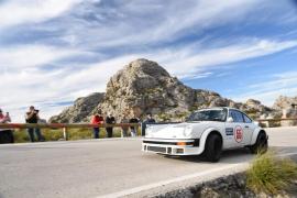 Los pilotos Clos, Rosenberger y Berlandy en el Rally Clásico de Mallorca