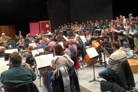 Ensayo del concierto de 'La Pasión según San Mateo'
