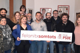 Xisco Duarte, precandidato del PSOE a la alcaldía de Felanitx