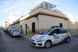 Operativo de la Policía Local de Palma en Son Gotleu
