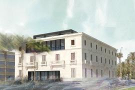 Recreación virtual del proyecto de remodelación de la antigua sede de la Autoridad Portuaria