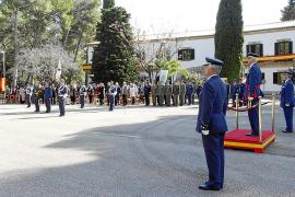 El coronel Carlos Pérez Salguero toma el mando del aeródromo militar de Pollença