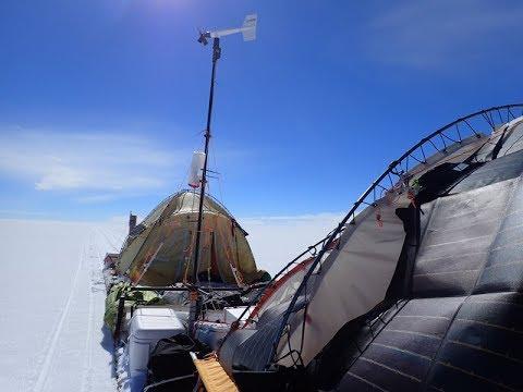 Un mallorquín recorre en una expedición 2.538 kilómetros de la Antártida en un trineo de viento