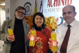 La OCB crea el refresco de naranja 'Bon dia' para celebrar el año nuevo chino