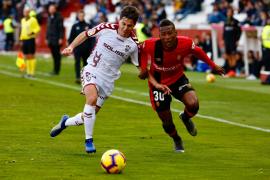 El Real Mallorca subraya sus carencias como visitante (2-0)