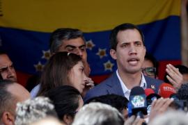 Guaidó dice que «en los próximos días» comenzará a llegar ayuda humanitaria
