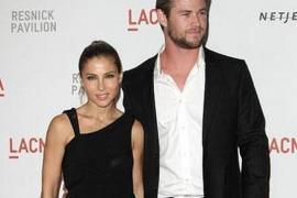 Chris Hemsworth y Elsa Pataky reaparecen tras  haber celebrado su primer año como marido y mujer