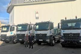 Vitrac Obra Pública refuerza su flota de camiones de la mano de Autovidal