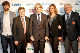 Gala Premios de Golf en el Palau de Congressos