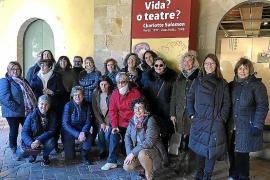 El Club de Lectura d'Esporles i Llucmajor viajan a Barcelona