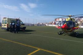 Una niña de 3 años en estado crítico tras caer de un edificio