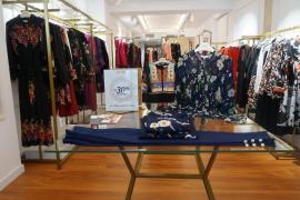 Las prendas de Niza, en la boutique de Palma
