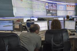 Extinguido un incendio leve en el centro de control aéreo de Palma
