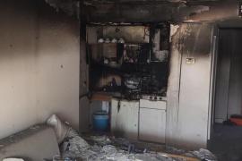 Evacuado un apartahotel en Can Pastilla por un incendio