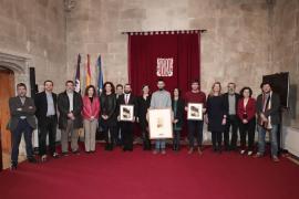 Armengol recibe a los baleares galardonados y nominados a los Goya