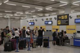 El aeropuerto de Palma inicia el año con un nuevo récord de pasajeros