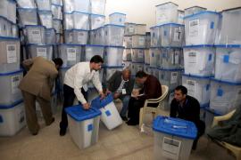 RECUENTO DE VOTOS TRAS LAS ELECCIONES PARLAMENTARIAS EN IRAK