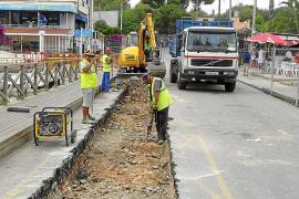 Seis empresas recibirán 73.000 euros por los perjucios de las obras del Riuet de Portocristo