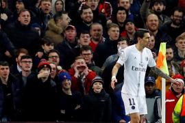 Di María a la afición de Old Trafford: 'Fuck off'