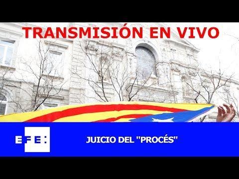 Segunda jornada del juicio del 'procés' con el turno del fiscal