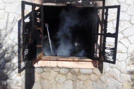 Incendio en Valldemossa