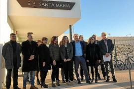 Inauguran el IES Santa Maria tras 14 meses de obras