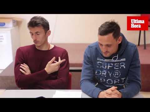 Nikola Stojiljkovic y Ante Budimir: «Ojalá estos meses nos cambien la vida»
