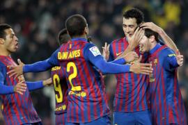 Por un día el Barça se apunta a la épica