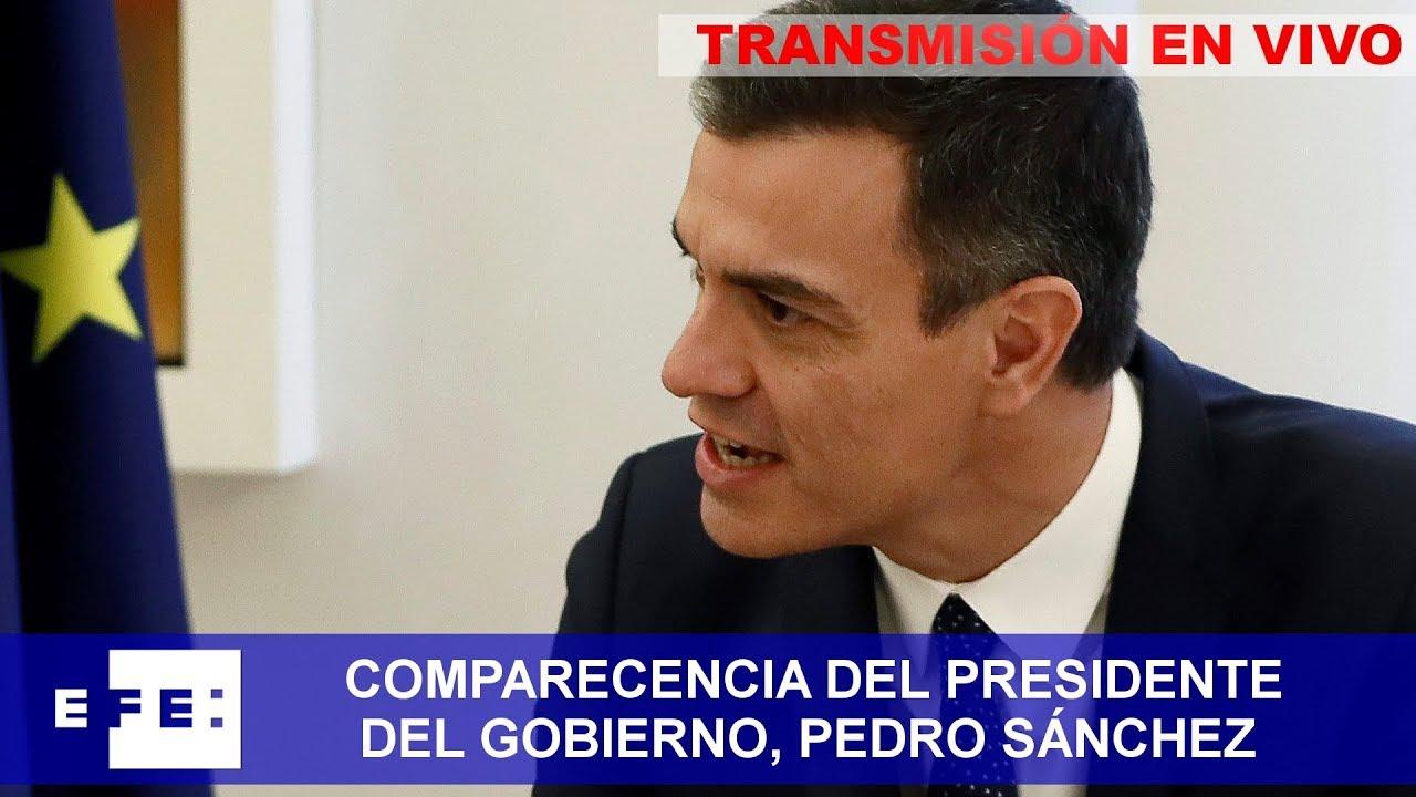 En directo | Declaración institucional de Pedro Sánchez