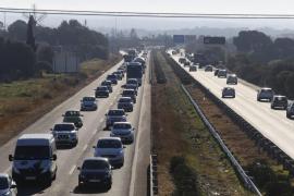 Nuevo colapso en Palma un día después del atasco de 15 kilómetros