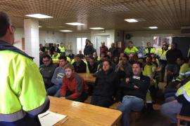 Los trabajadores de Cemex en Lloseta aceptan la propuesta para el despido colectivo