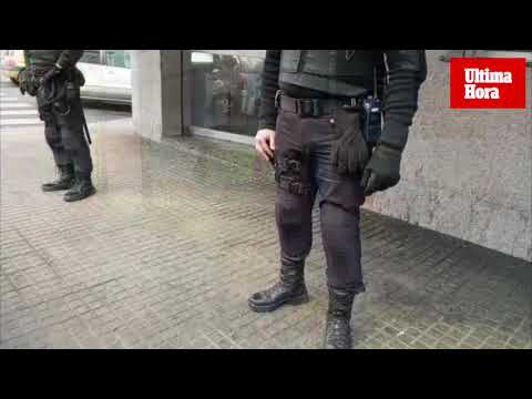 Gran operación policial en locales de Son Gotleu contra el tráfico de drogas