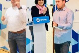 Xesca Ramis, Toni Aguiló y Mateu Català, cabezas de lista del PP en Lloseta, Fornalutx y Lloret de Vistalegre