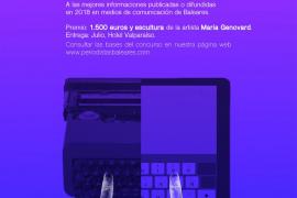 La Asociación de Periodistas de las Baleares convoca su cuarto premio de periodismo