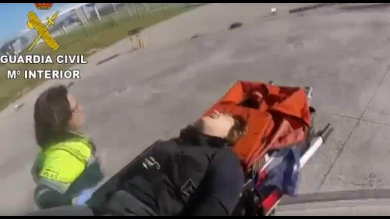 Rescatan en helicóptero a una mujer lesionada en una pierna en Lluc