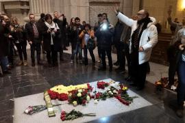 El prior del Valle de los Caídos: «No se llevarán a Franco. El templo es inviolable»
