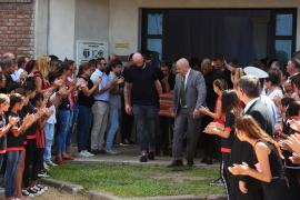 Los restos mortales de Emiliano Sala son incinerados en Argentina