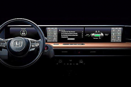 Honda desvela el interior de su prototipo eléctrico