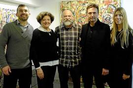 Inauguración de la exposición de la obra de Carlos Suñer