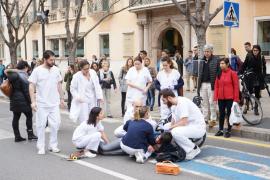 Condenado a una multa un conductor drogado que atropelló a un joven en Palma