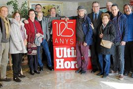 La ONCE homenajea a Ultima Hora por sus 125 años