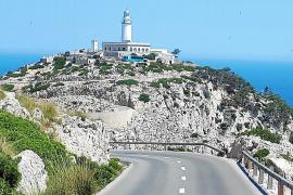 La carretera del faro de Formentor estará cerrada a los coches 9 horas al día en verano