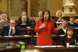 Armengol: «La diferencia entre Rajoy y Sánchez es que el primero divide y el segundo une»