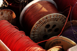 Tres detenidos en Ibiza por robar 200 kilos de cable de cobre