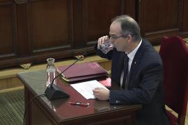 Diez frases de Turull en el juicio del procés