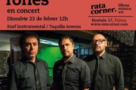 Concierto de Reservoir Tones en Rata Corner