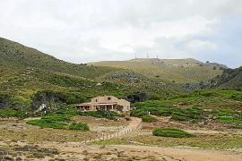 El refugio de s'Arenalet d'Albarca