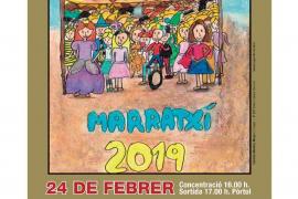 La Rua de Marratxí se celebrará este domingo con 12 comparsas