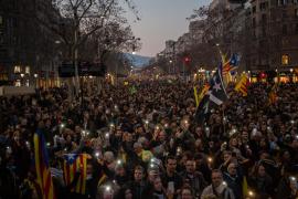 La huelga soberanista toma calles y carreteras pero no paraliza la economía de Cataluña